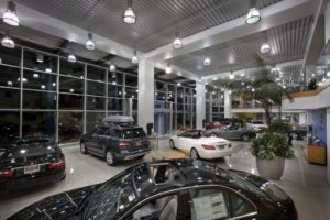 Commercial Auto Show Room Lighting